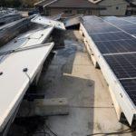 太陽光パネル設置屋根からの雨漏り 散水調査&サーモグラフィで浸入場所を特定【愛知県碧南市】