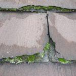 層状はく離しているパミール屋根で、何層なのか?数えてみました!