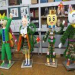 令和2年11月7日~15日まで開催される「人形小路 菊まつり2020」の準備が進んでいますよ (^o^)/