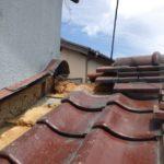 瓦屋根・1階下屋根からの雨漏り 壁との取り合いを部分補修【愛知県知多市】