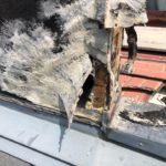 DIY修理しても止まらない雨漏り 早めに業者に依頼しましょう。【愛知県名古屋市】