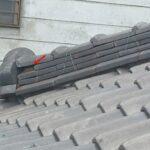 古い日本瓦屋根の耐風改修 スレート屋根へ葺き替え【愛知県半田市】