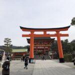 伏見稲荷大社さんへの初詣に伺いましたよ