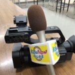 Kids Nowチャンネルでカメラの取り扱い説明を受けました