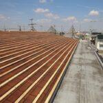 RC造アパートのシングル屋根リフォーム工事 瓦で安心カバー工法