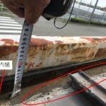 緩勾配の金属屋根からの雨漏り 2重野地でカバー工法改修