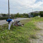 外淵公園清掃活動 6月最終週です