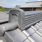 新築倉庫2棟。瓦の通気下地屋根構法で立派に完成 【愛知県清須市】