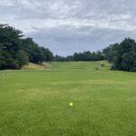 お盆休みにゴルフにいきましたよ (^o^)/