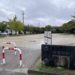 外淵公園清掃活動 雨で中止です・・・雑草が結構生えてますね ((+_+))